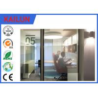 Wholesale Silver / Black Anodized Aluminium U Channel For Office Partition System TS16949 : 2009 from china suppliers