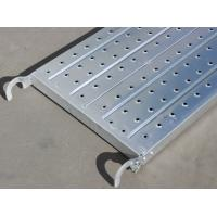 Buy cheap Q345 Hot-Dipped Galvanized Scaffolding Metal Planks for Construction from wholesalers