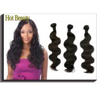 Wholesale Black Grade 5A Virgin Malaysian Body Wave Hair Extensions Sleek from china suppliers