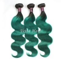 Wholesale Green Unprocessed Brazilian Body Wave Human Hair Weave Tangle Shed Free from china suppliers