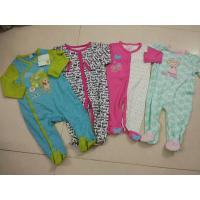 Wholesale wholesale baby cotton rompers inventory climbing clothes jumpsuit with food strap left off stock from china suppliers