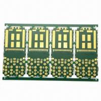 Wholesale Multilayer Gold Plating PCB with 1.6mm Board Thickness, 1oz Copper Thickness with FR4 from china suppliers