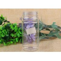 Wholesale 62mm Diameter Storage Aluminum Cover Bottle Food Grade Clear Plastic Jars from china suppliers