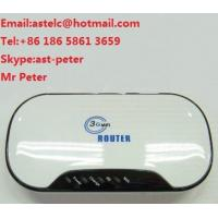 Buy cheap Pocket 3G Wifi SIM Slot Router from wholesalers