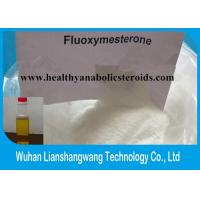 Wholesale White powder Effective Fluoxymesterone Halotestin anabolic steroids muscle gain with high purity from china suppliers