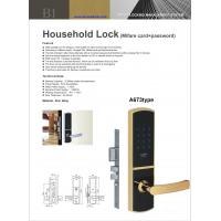 Quality household RF card+ password door lock for sale