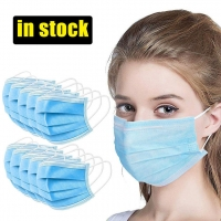 Wholesale Adjustable Anti Spitting Disposable 3 Layer Individual Mask from china suppliers