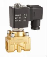 "Wholesale Mini 1/4""Water Solenoid Valve Two Way Electric Water Valve Semi Direct Acting from china suppliers"