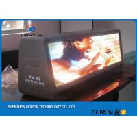 Wholesale VIdeo Function taxi top advertising , taxi top led display SMD 3 in 1 With Thin Box from china suppliers