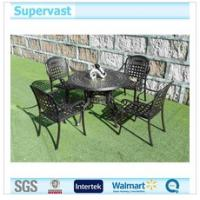 Wholesale High Level Cast Aluminum Patio Sets , Metal Outdoor Dining Chairs and Table Sets from china suppliers