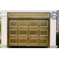 Wholesale Automatic Sectional Garage Door Timber Color For Residence from china suppliers