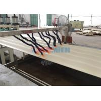 Wholesale Fireproof PVC Hollow Roof Sheet Making Machine 55kw + 15kw High Production Efficiency from china suppliers