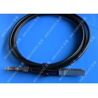 Quality 40Gb/s QSFP28 Direct-attach Copper Cable for Switch 2 Meter Black for sale