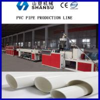 Wholesale Screw Core Cooling Plastic Pipe Extrusion Machine , PVC Pipe Manufacturing Machine from china suppliers