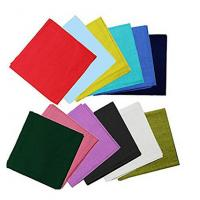"Wholesale Bandanas By The Dozen 100% Cotton, Head Wrap 22"" x 22"" from china suppliers"