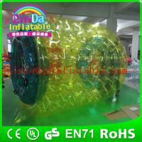 Wholesale QinDa Inflatable water wheel for fun water roller ball price water walking roller ball from china suppliers