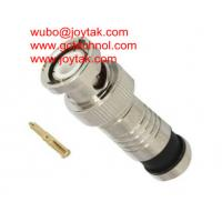 Wholesale BNC Coaxial Connector Compression Type 50ohm RG6 RG59 Coax Cable / BNC.MC50.01 from china suppliers
