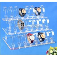 Wholesale Detachable 3 Tier Acrylic Display Stand , Acrylic Wrist Watch Holder Stand from china suppliers