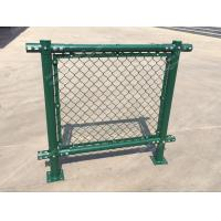 Wholesale PVC Chain Link Fence for Tennis Soccer Field Court Yard and Garden from china suppliers
