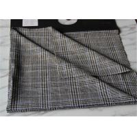 Wholesale Criss Cross Strip Tartan Wool Fabric Houndstooth Causal Suit / Pants With Vertical Line from china suppliers