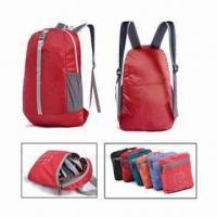 Wholesale Sports Backpack with 210D Polyester Lining, Made of 420D Nylon Ripstop and 420D Dobby from china suppliers