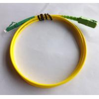 Wholesale SC / APC to LC / APC Fiber Optic Patch Cord SM Simplex LSZH Cable from china suppliers