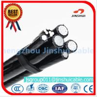 Buy cheap Xlpe Insulation Aluminum Overhead Power Cables 6 AWG Size Excellent Corrosion Resistance from wholesalers