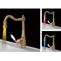 Wholesale Led Faucet Light 7 Colors Changing Water Glow Shower No Battery from china suppliers