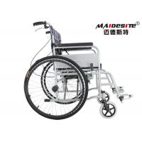 Wholesale Outdoor Collapsible Wheelchair Lightweight , Folding Manual Wheelchair SLY-109 from china suppliers