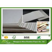 Wholesale Good stiffness two side laminated gray paper Carton gris for book cover from china suppliers