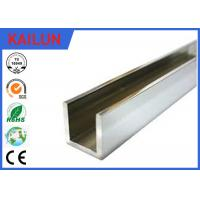 Wholesale 6063 / 6061 Aluminum Architectural Channel U Shaped Anti Corrosion Resistant from china suppliers