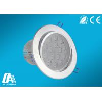 Wholesale 15W 1200 Lumens LED Ceiling Downlights 2800K - 3000K , Bathroom Down Lighting from china suppliers