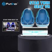 Wholesale Interactive 9D VR Simulator / 360 Degree Rotating VR Egg Chair For Amusement Park from china suppliers