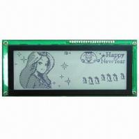 Wholesale FSTN Gray Graphic LCD Module with White LED Backlight from china suppliers