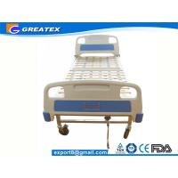 Wholesale Medical Equipment Bed Back Lift Simple One Crank ABS Manual Hospital Bed from china suppliers