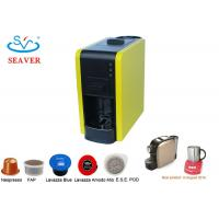 Wholesale 1L Italy Pump Caffitaly Coffee Machine In Red / Black / Yellow Color from china suppliers