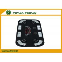 Wholesale Black Jack Oval Foldable Poker Table For Entertainment 160 x 80 x 1.2 cm from china suppliers