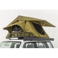Wholesale Double Layer Vehicle Top Tent , Truck Parts Jeep Wrangler Roof Rack Tent from china suppliers
