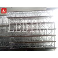 Quality Indoor Concert Light Aluminum Spigot Truss 387 mm Silver Square Spigot Truss for sale