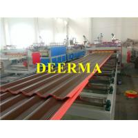 Wholesale Plastic PVC+PMMA/ASA Glaze Roofing Sheet Making Machine Heating Resistance from china suppliers