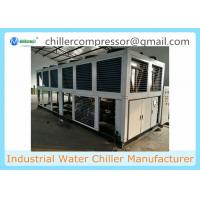 Wholesale 100 tons Industrial Air-Cooled Water Chiller with Semi-Hermetic Screw Compressors from china suppliers
