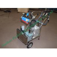 Wholesale High Efficiency Mobile Milking Machine with Single Cluster Group from china suppliers