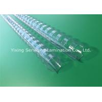 Wholesale A4 Paper 22mm Clear Binding Combs Plastic Material Bind Up To 450 Sheets from china suppliers