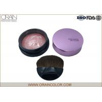 Wholesale Charming Pressed Powder Blush , Portable Long Lasting Blush For Oval Face from china suppliers