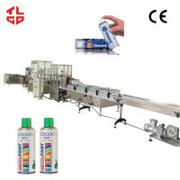 Wholesale Aerosol Spray Paint Can Filling Machine Filling Lines from china suppliers