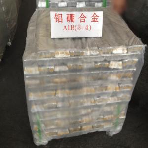 Wholesale High Temperature AlB3 Alloy Ingot AlB Alloy Ingot Aluminium Master Alloy from china suppliers