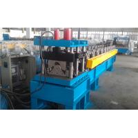 Wholesale Metal Roof Cutting Ridge Cap Roll Forming Machine With PLC Control from china suppliers