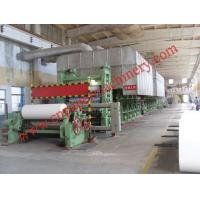 Quality writing paper machine for sale