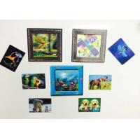 Wholesale Custom Shaped PP / PET Lenticular 3D Fridge Magnets With Lenticular Printing from china suppliers