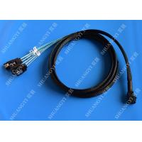 Wholesale Internal HD Mini SAS Cable (SFF-8643) to 4 SATA Forward Breakout Cable 3.3 Feet / 1M from china suppliers